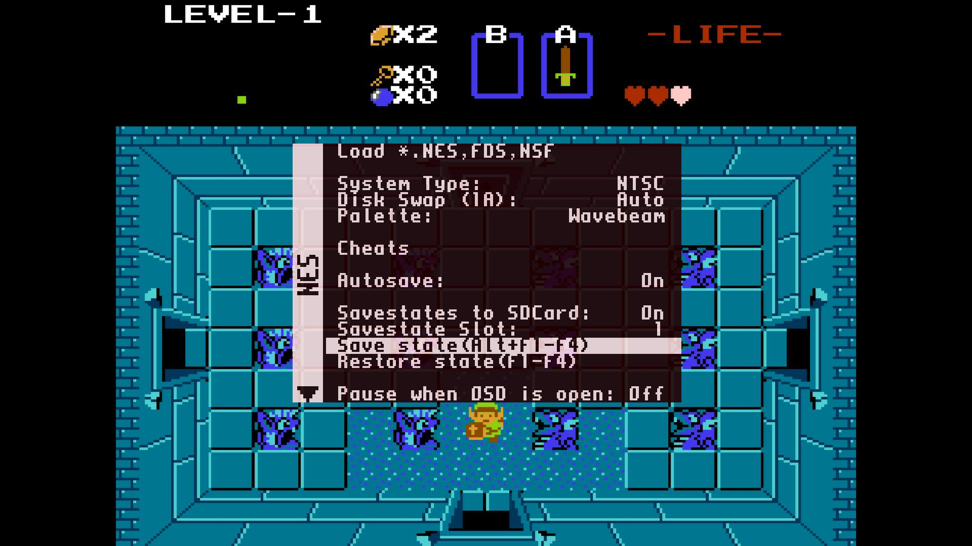NES Savestates Added to MiSTer