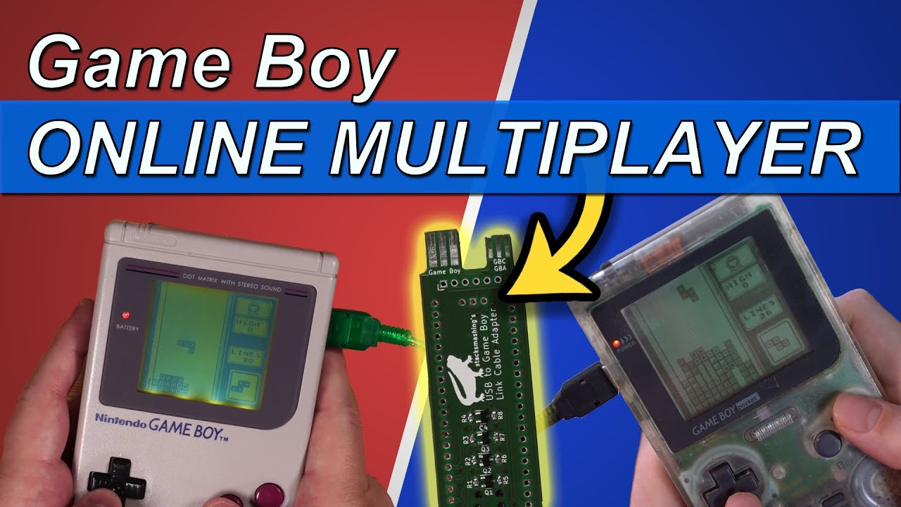 Play real GameBoy Tetris over the Internet
