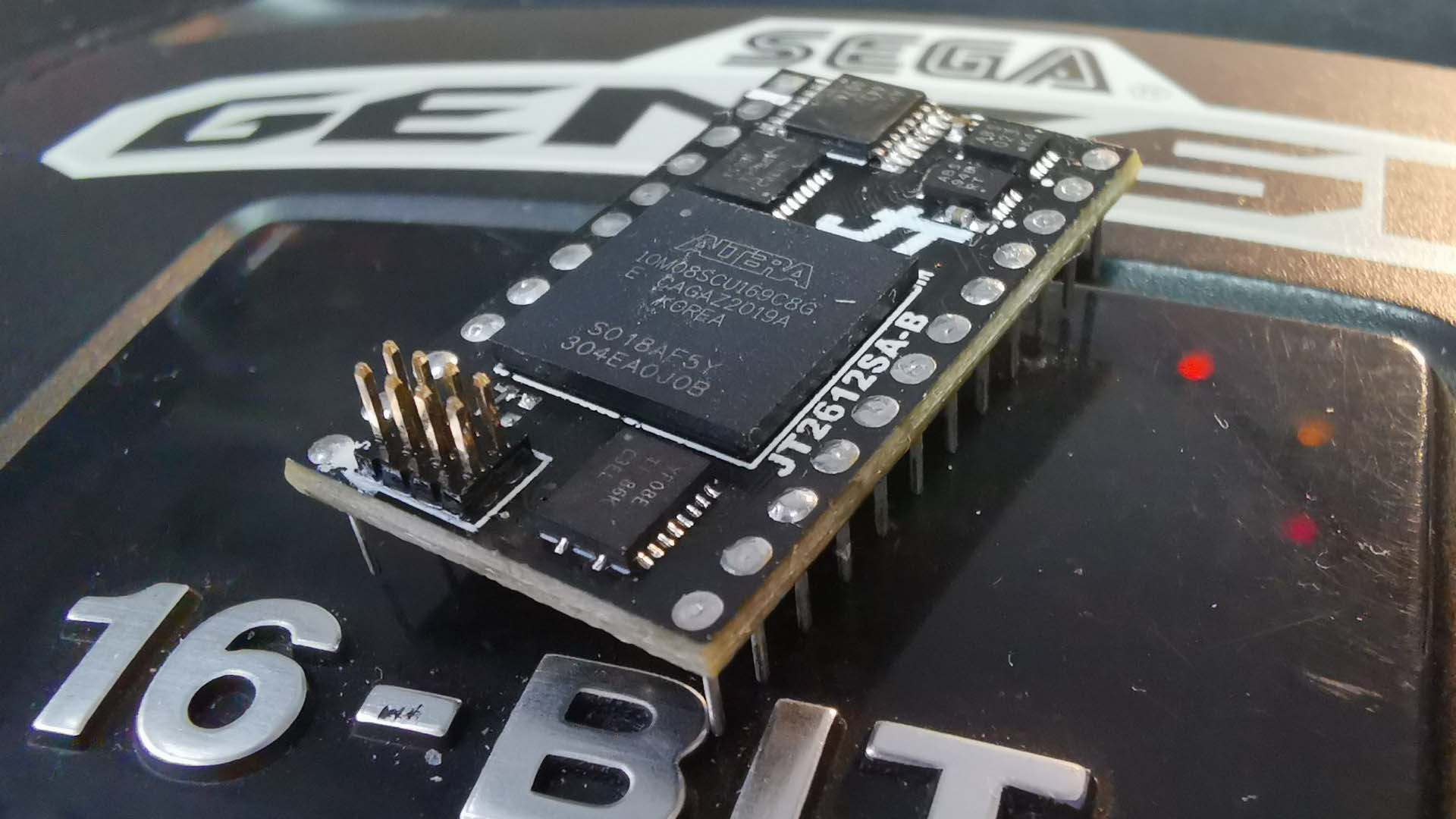 FPGA-Based YM2612 Replacement