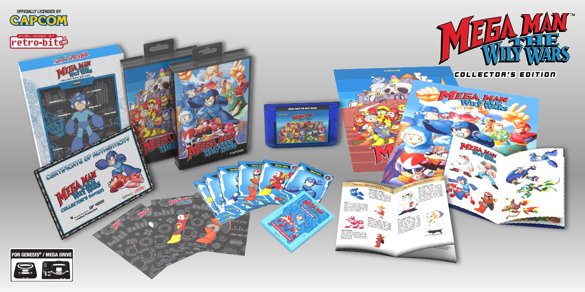 Mega Man: Wily Wars Official Sega Genesis Release