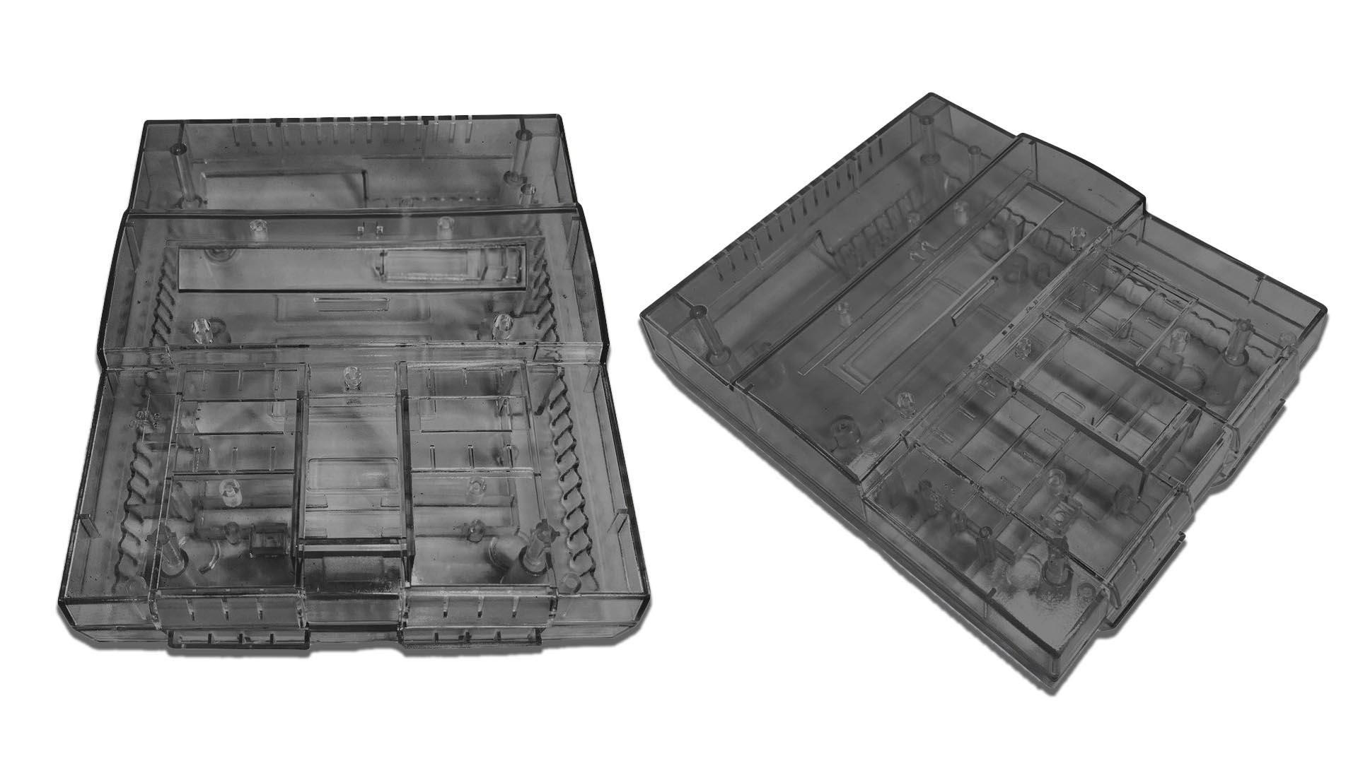 SNES Smoke Transparent Shells