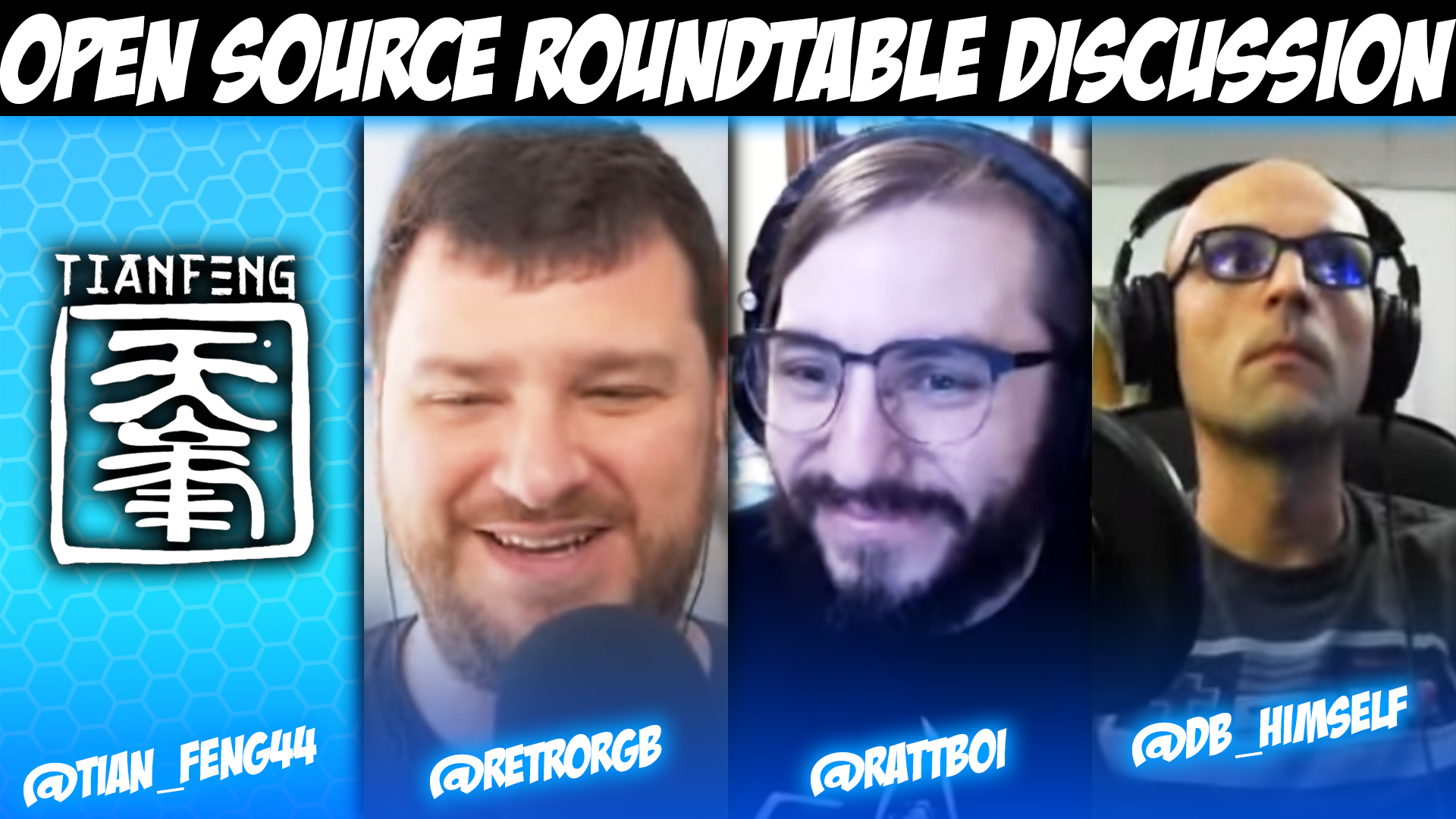 Open Source Roundtable Discussion
