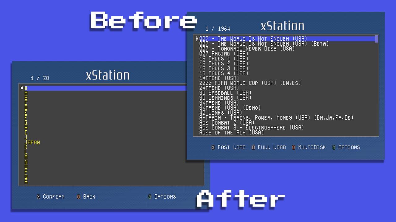 XStation Firmware Update Adds Folder Browsing