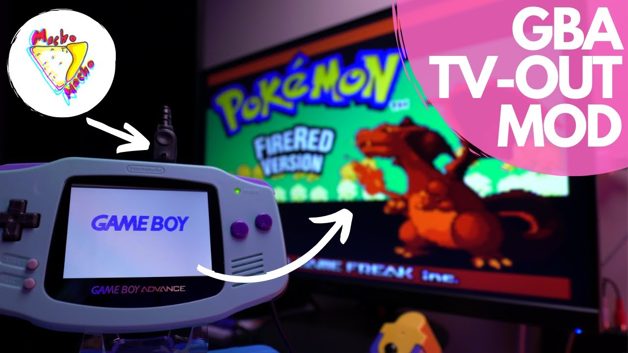 GBA IPS + TV-Out