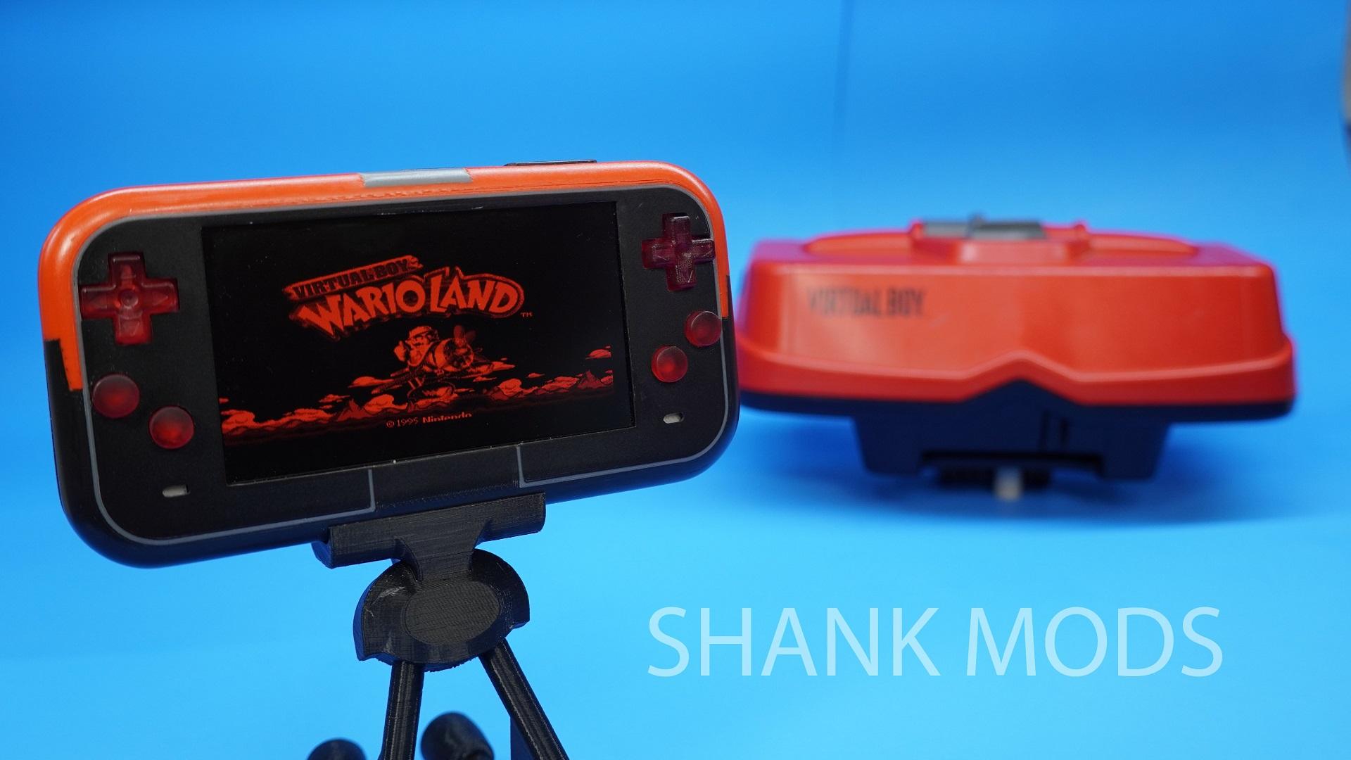 Handheld Virtual Boy Project