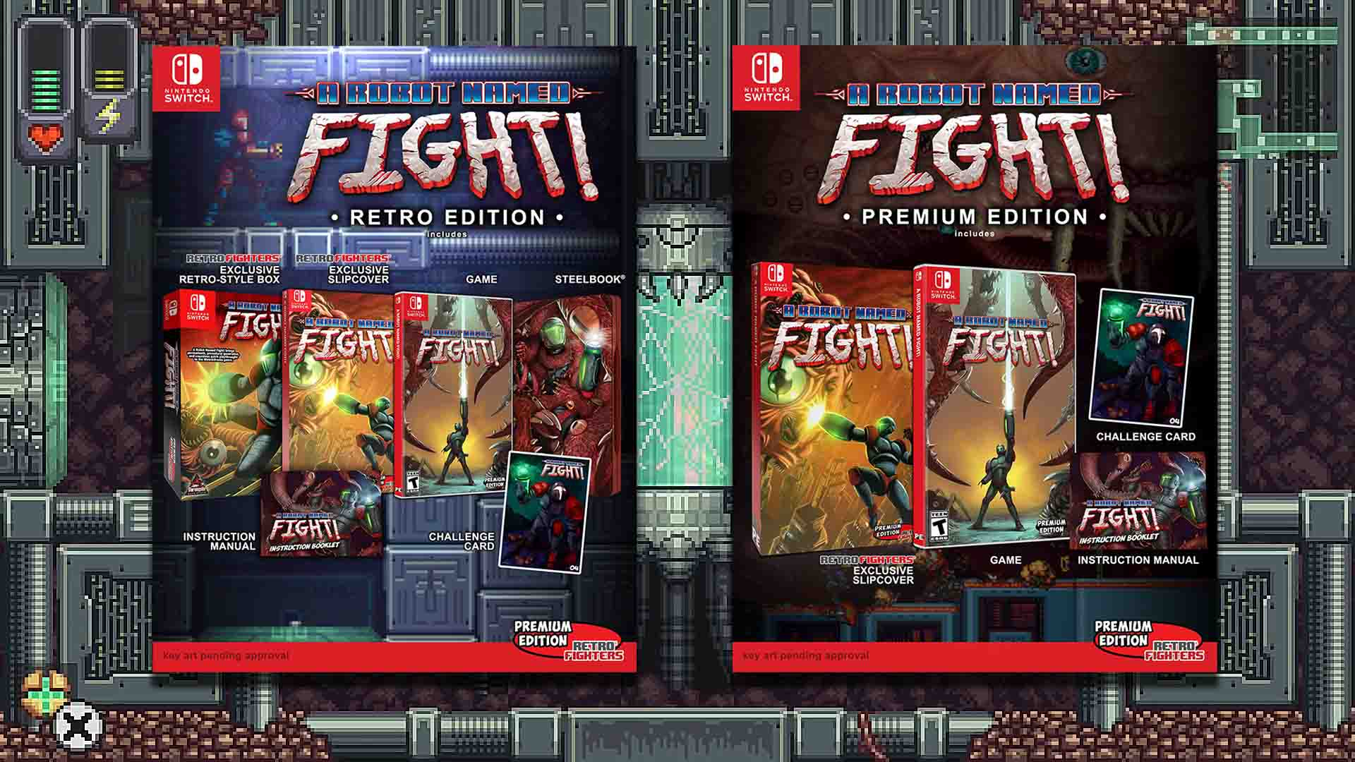 A Robot Named Fight: Physical Edition Pre-Orders Open