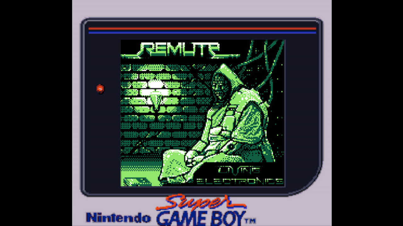 Remute's 'Living Electronics' Game Boy Album Now Available