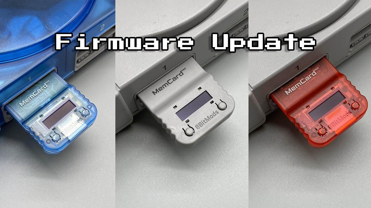 MemCard Pro Firmware Update v1.0.3