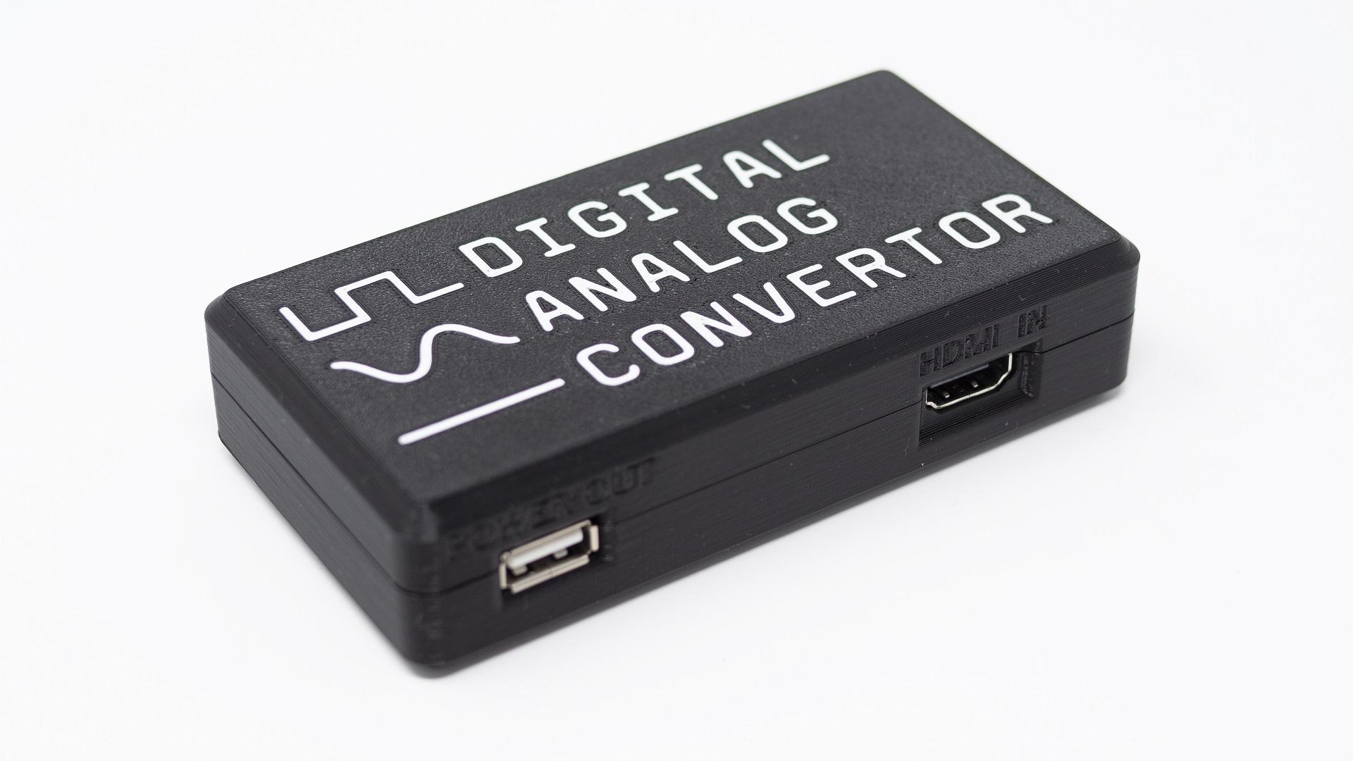 Analogue DAC 3D Printed Case