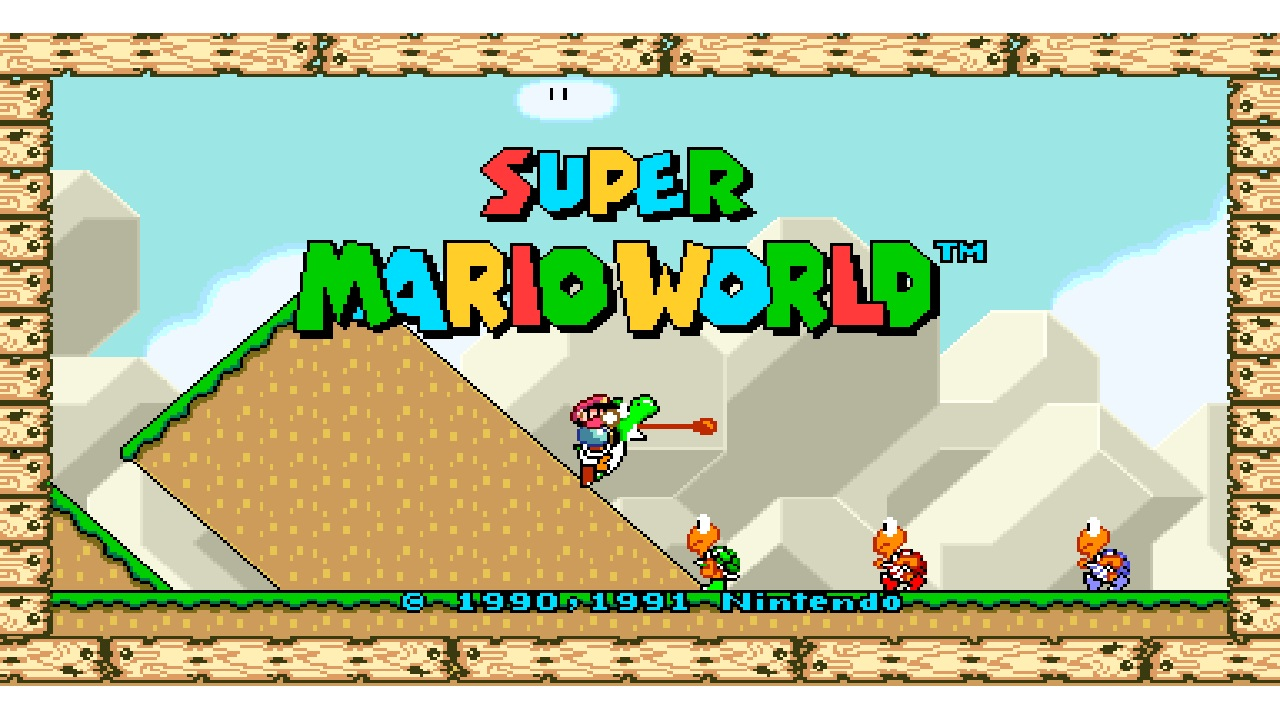 Super Mario World 16:9 Hacks Released