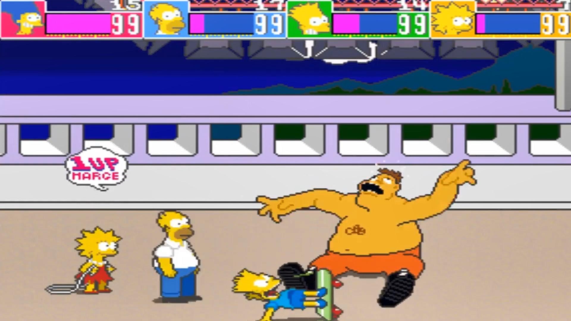 Arcade1Up Simpsons Arcade Machine