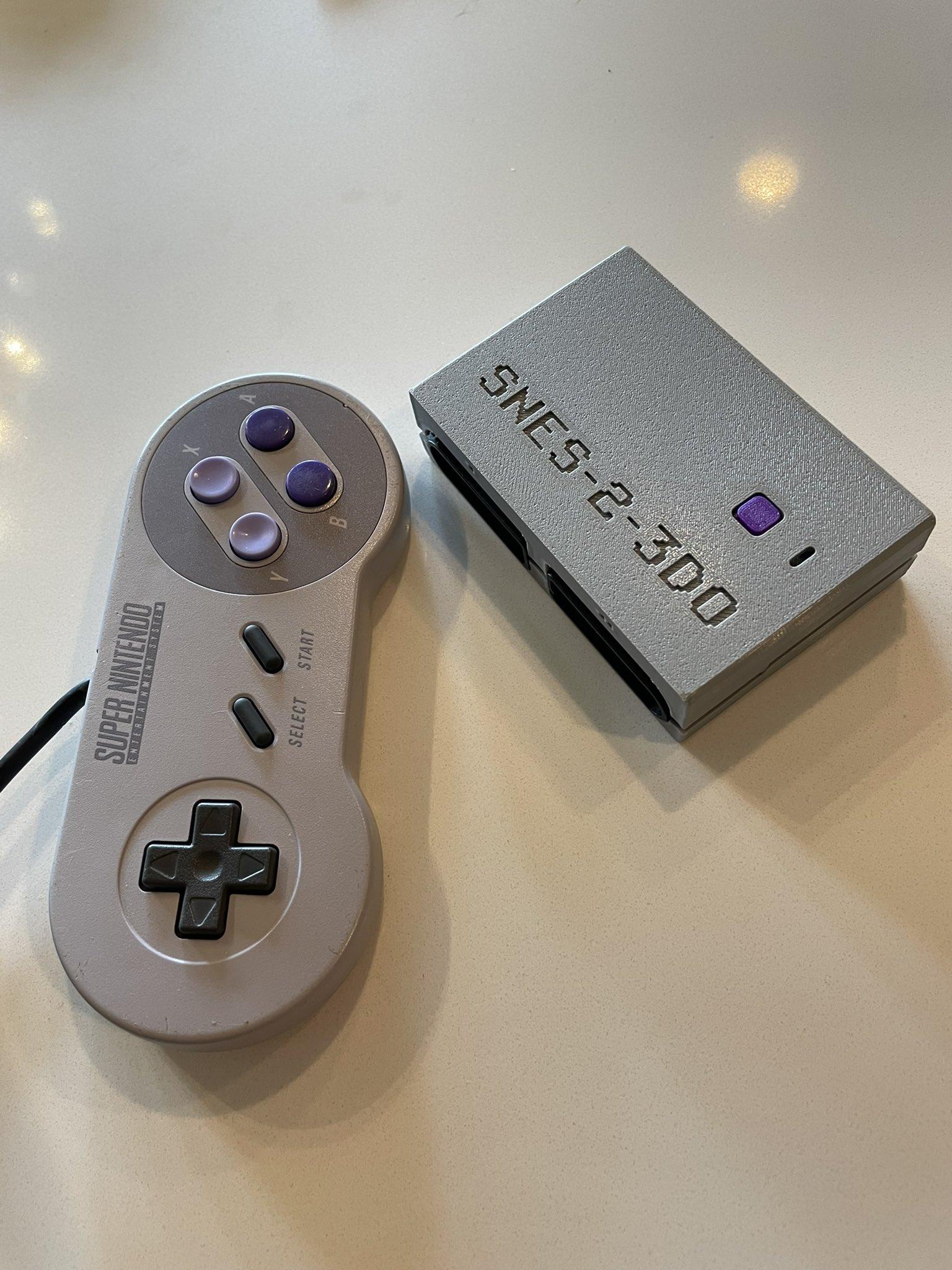SNES-2-3DO controller adapter