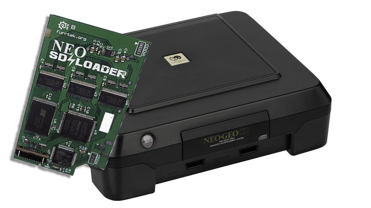 Neo SD Loader Now Supports Front-Loading Consoles