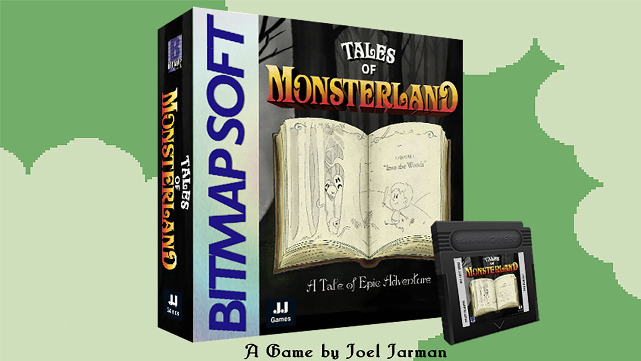 New Game Boy Platformer – Tales Of Monsterland