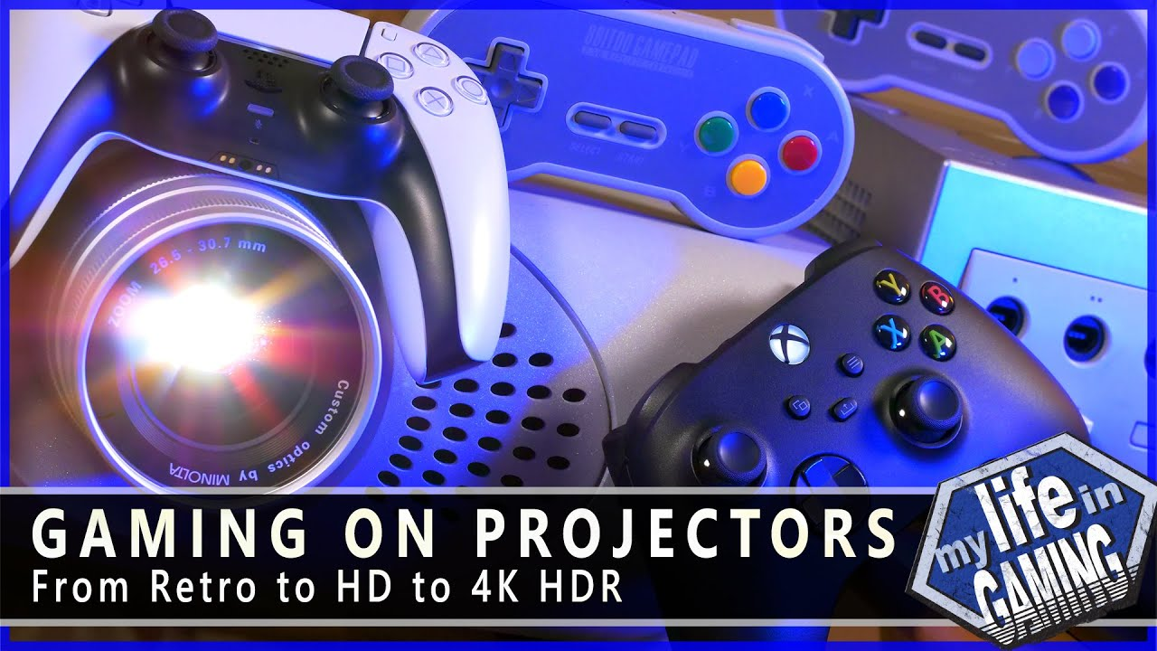 """My Life in Gaming New Video: """"Gaming on Projectors"""""""