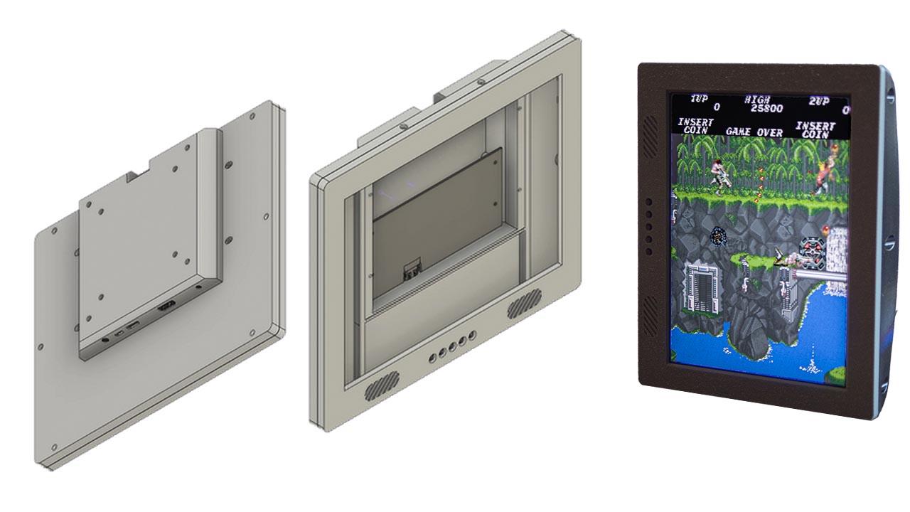 VESA Mountable 9.7″ LCD Case