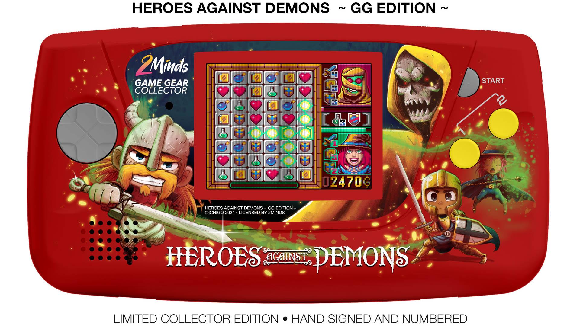 Pre-Order Game Gear: Heroes Against Demons