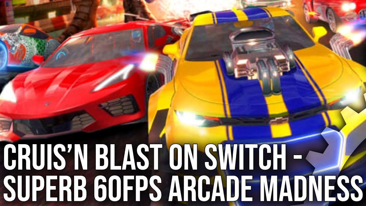 Cruis'n Blast on Switch Reviewed, Looks Awesome