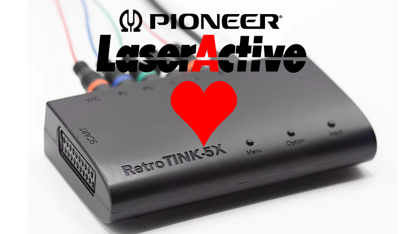 The Pioneer LaserActive and the RetroTINK-5X: A Match Made in Heaven?