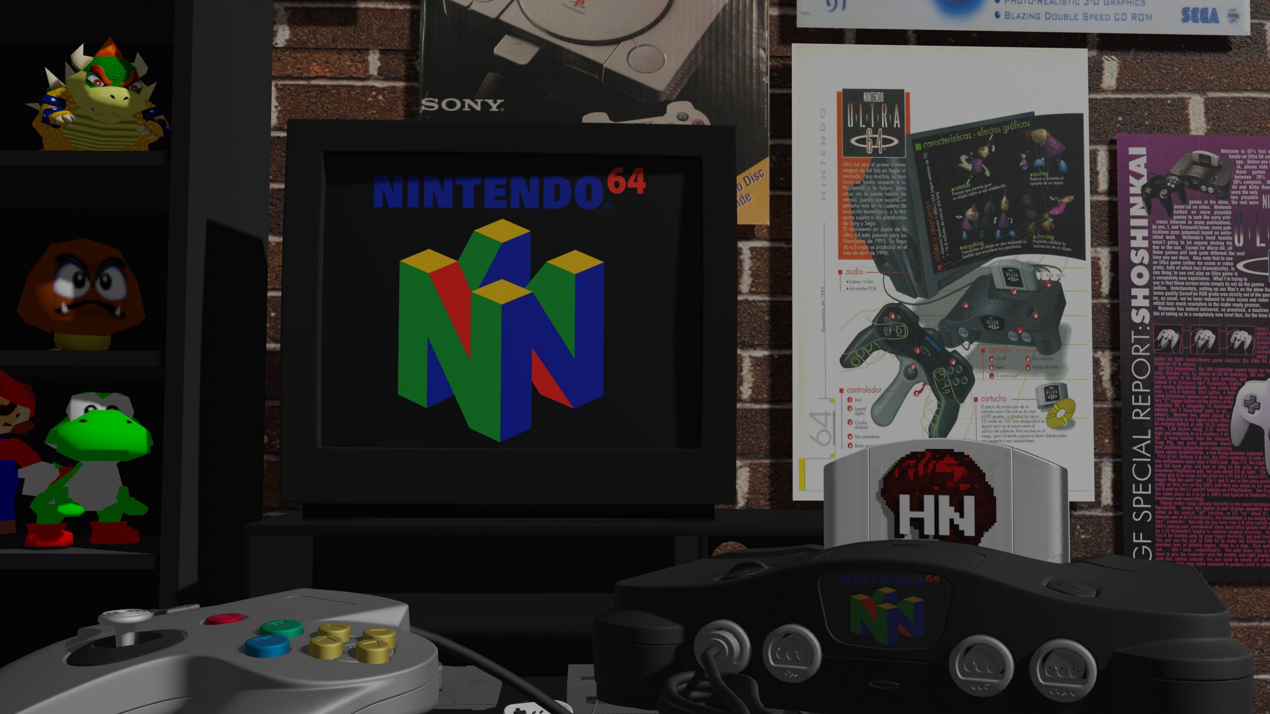 The History of the Nintendo 64 by HistoricNerd