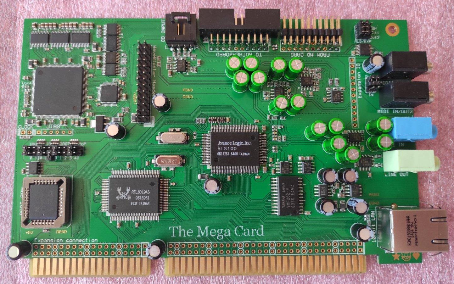 New Amstrad Mega PC Video Output / Sound Card