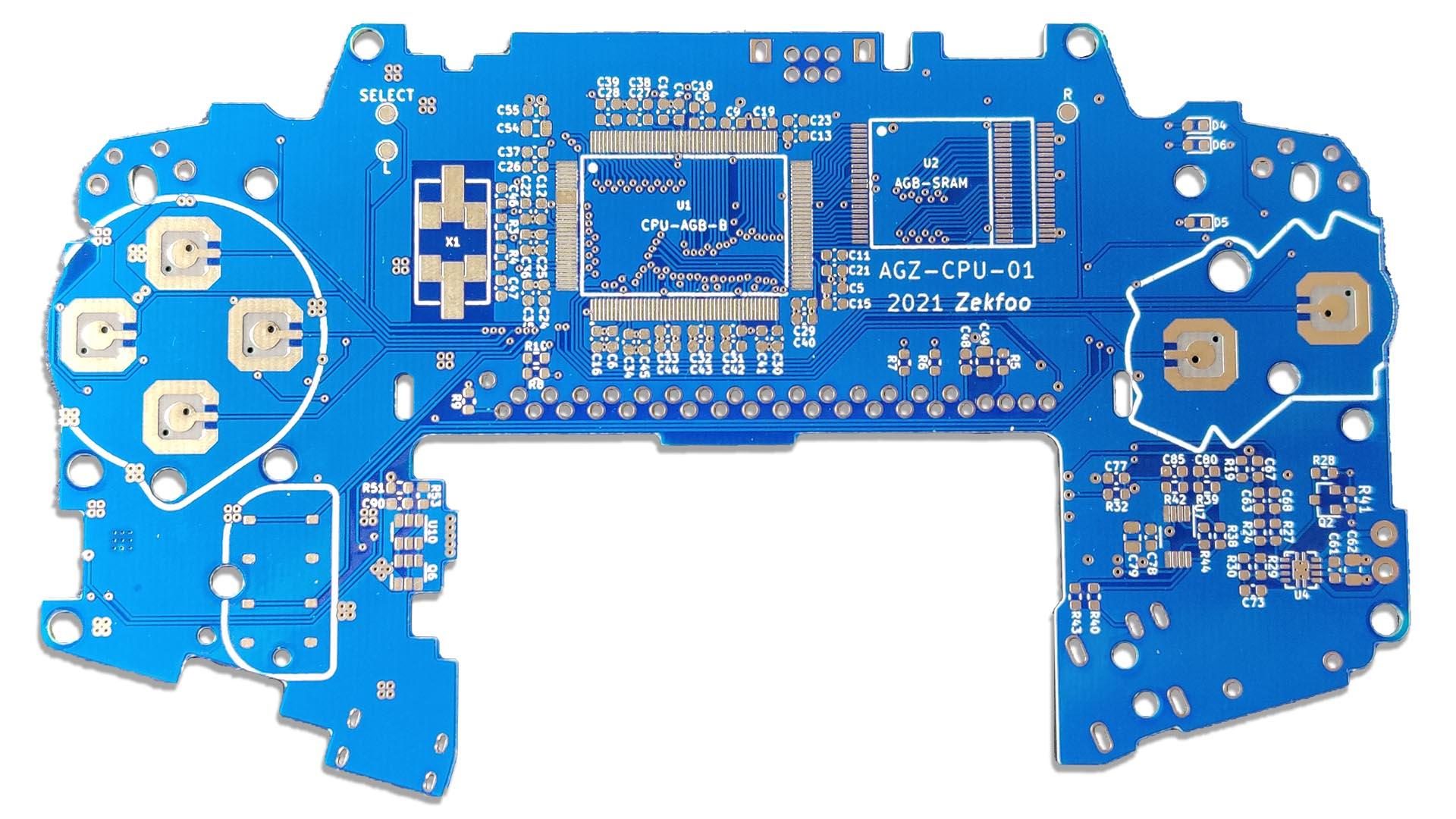 GBA Motherboard Reverse Engineered