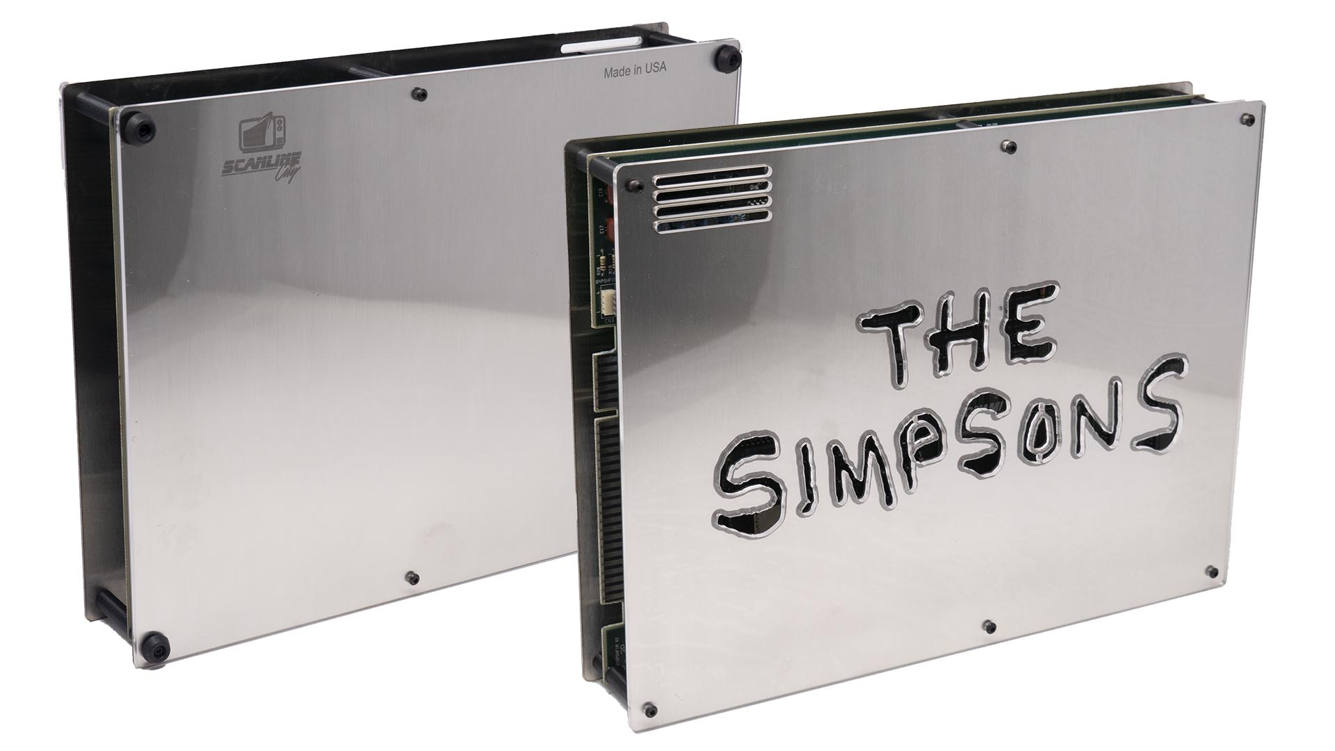 New Metal + Plexi Cases from Scanline City