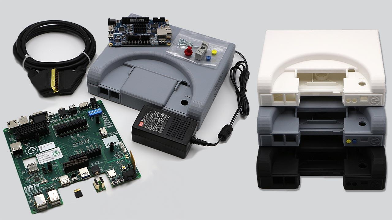 MiSTer Multisystem Case & I/O Board Released