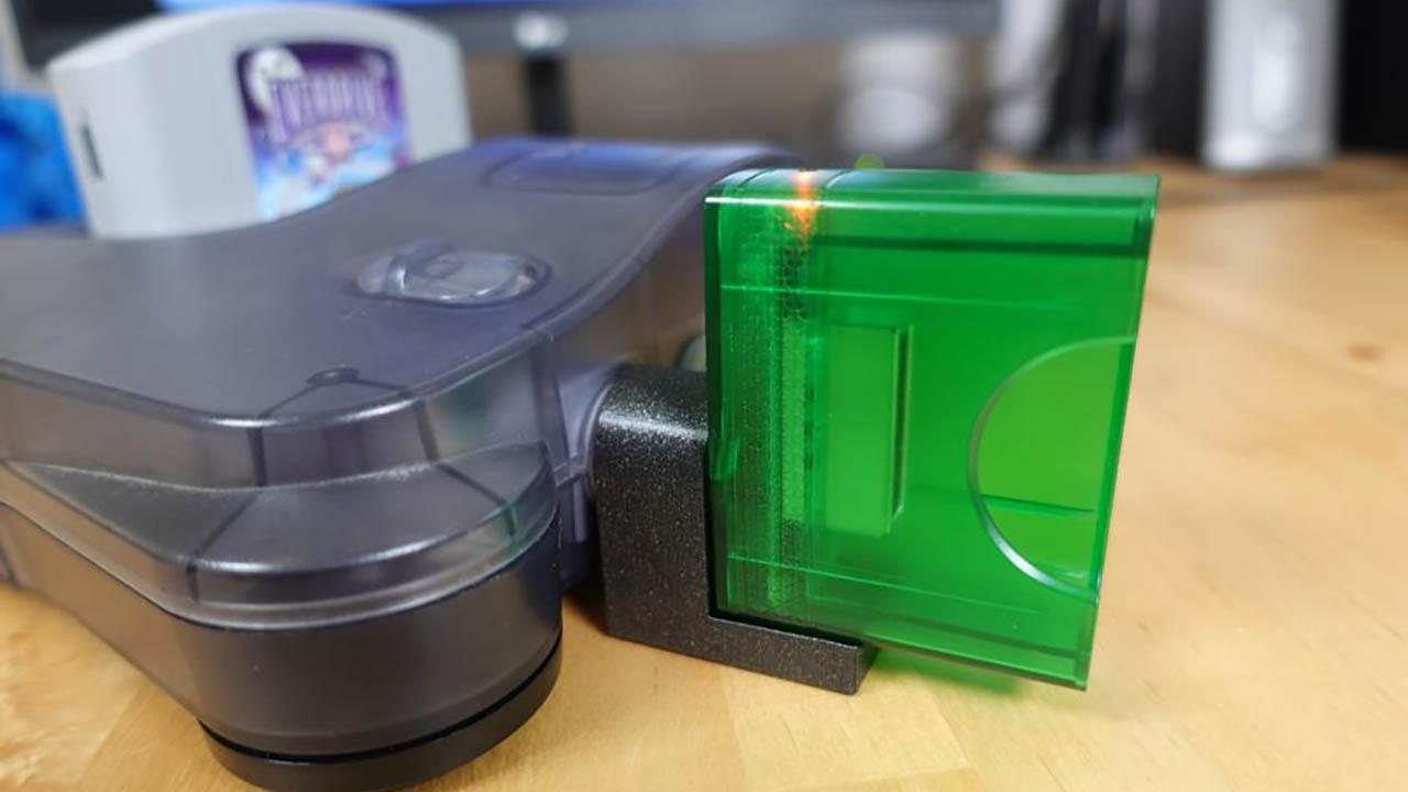 Wireless N64 Receiver 3D Printed Bracket