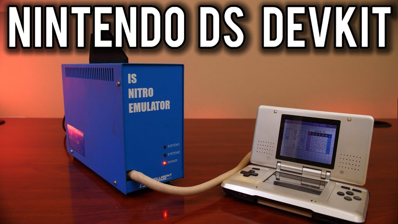 Nitro DS Emulator:  A look at the dev software